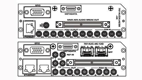 evertz 7814UDX-4K-12G アップ/ダウンコンバータ