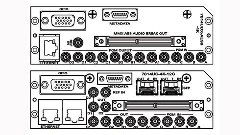 evertz 7814UDX-4K-12G アップ/ダウンコンバータの画像