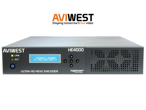 After NAB Show展示製品情報 -AVIWEST HE4000-