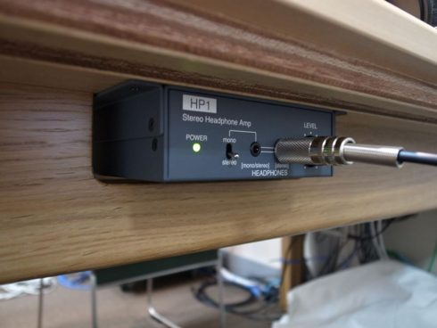 HP1ステレオヘッドフォンアンプ