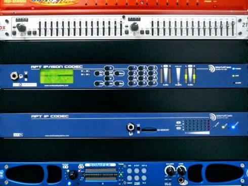 ニッポン放送様 関西リモコンシステム更新 -IP音声コーデック+DHD.audioミキサー-