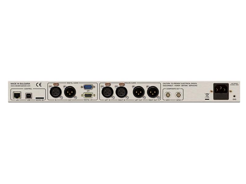 DB-64FM/4バンドオーディオプロセッサーの画像