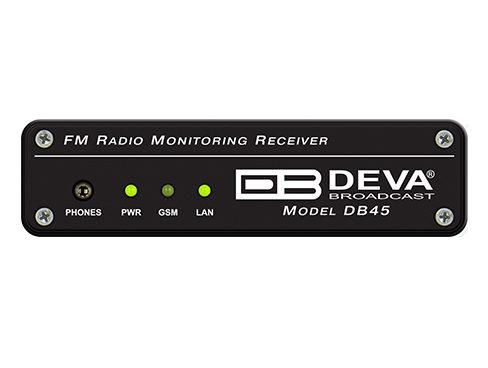 DB45 FMラジオレシーバ/モジュレーションアナライザ