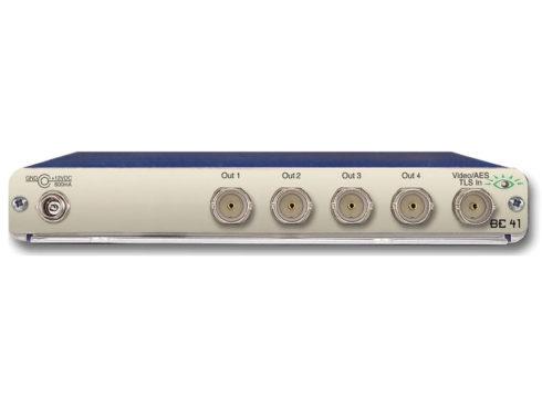 BrightEye41 アナログビデオ/AES/3値シンク/ワードクロック分配器