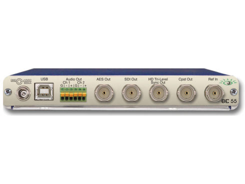 BrightEye55 シンクパルス/テストパターンジェネレーター(SPG/TSG) (ゲンロック対応)