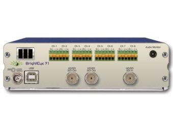 BrightEye71 HD/SD-SDI 8ch アナログオーディオ エンベ/ディエンベデッダーの画像