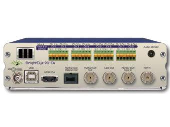 BrightEye90-FA HD/SD-SDI/アナログビデオ → HD/SD-SDI/アナログビデオ/HDMI with アナログオーディオ/オプティカルの画像