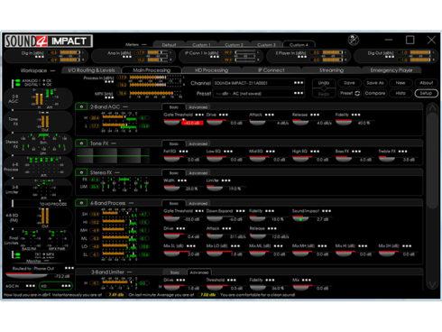 IMPACT FMオーディオプロセッサー