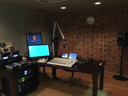 DHD.audioカスタマイズミキサー52RX導入事例 -エフエム・ノースウェーブ様 C、Dスタジオ-
