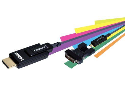 LUSEMのアクティブ光ケーブル