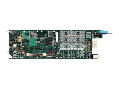 7707AT-A8/7707AT-A12/8, 12チャンネル・アナログオーディオ・ファイバー・トランスミッター