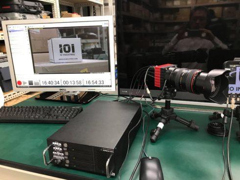 IO Industriesの8KカメラFlare 48M30-CX