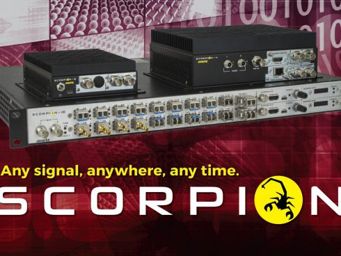 SCORPION-X18/メディアプロセッシングプラットフォーム