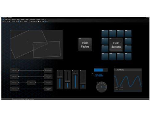 Widget Designer/インタラクティブアプリケーションビルダー