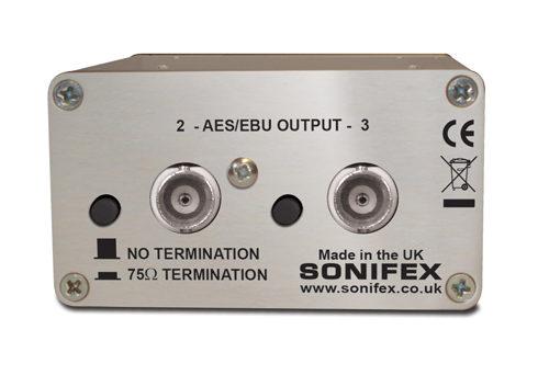 CM-AESB3/AES音声分配器/BNCコネクタタイプ