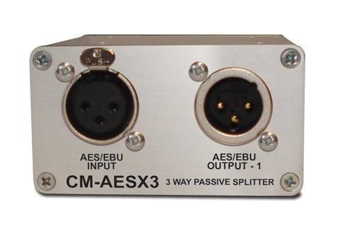 CM-AESX3/AES音声分配器/XLRコネクタタイプ