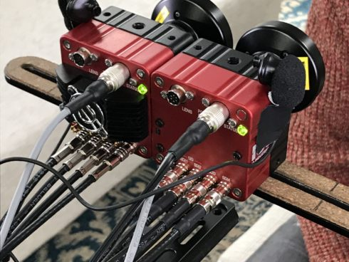 VR撮影での4KSDI-MINI/コンパクトカメラモジュールの使用例