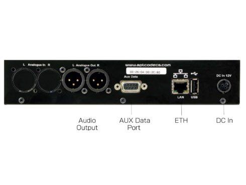 APT IP DECODER SILVER / IP音声デコーダー