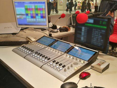DHD SX2デジタルミキサーバンドルセット導入事例 -ラジオ高崎様-