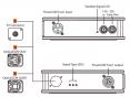 12G-SDI 光コンバーター(TX) XVVSDI2FIBERT1-12Gの画像