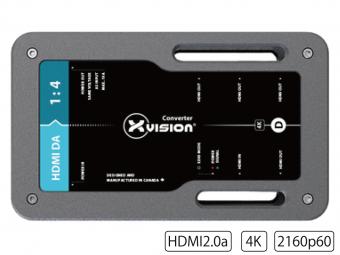 HDMIディストリビューションアンプ1:4 TXVV-HDMIDA-TRUE1の画像