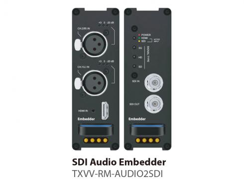 SDIエンベデッダー TXVV-RM-AUDIO2SDI
