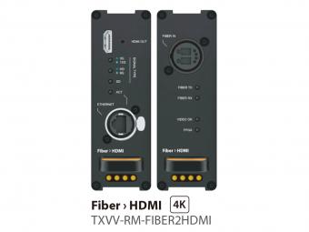 SDVoE HDMIレシーバー TXVV-RM-FIBER2HDMIの画像