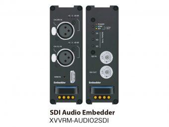 SDIエンベデッダー XVVRM-AUDIO2SDIの画像