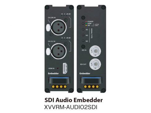 SDIエンベデッダー XVVRM-AUDIO2SDI