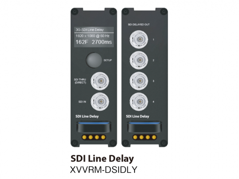 SDI ラインディレイ XVVRM-DSIDLY