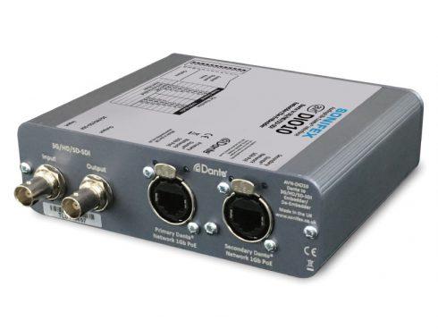 AVN-DIO10 / Dante®対応 3G/HD/SD-SDI エンベデッダー/ディエンベデッダー