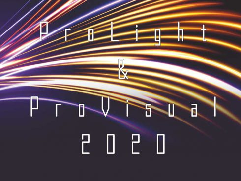 ProLight & ProVisual2020 -出展情報-