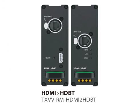 HDMI HDBT延長器(TX) TXVV-RM-HDMI2HDBT