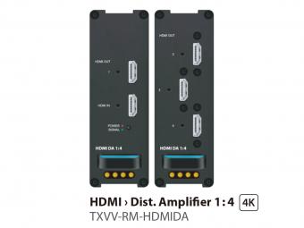 HDMIディストリビューションアンプ1:4 TXVV-RM-HDMIDAの画像