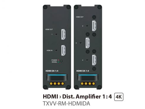 HDMIディストリビューションアンプ1:4 TXVV-RM-HDMIDA