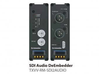 SDIディエンベデッダー TXVV-RM-SDI2AUDIOの画像