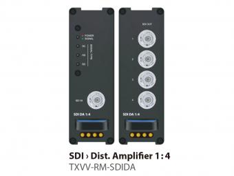 SDIディストリビューションアンプ1:4 TXVV-RM-SDIDAの画像