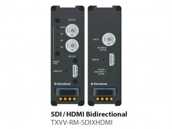 HDMI/SDI双方向コンバーター TXVV-RM-SDIXHDMIの画像