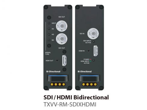 HDMI/SDI双方向コンバーター TXVV-RM-SDIXHDMI