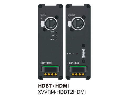 HDMI HDBT延長器(RX) XVVRM-HDBT2HDMI