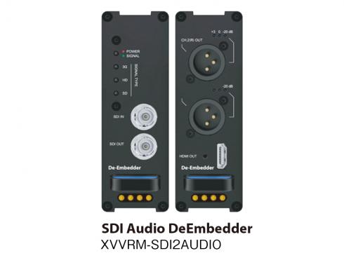 SDIディエンベデッダー XVVRM-SDI2AUDIO