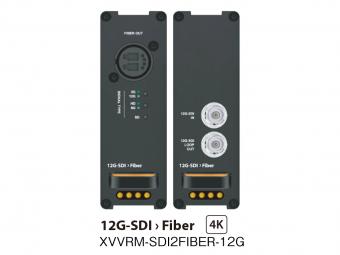 12G-SDI 光コンバーター(TX) XVVRM-SDI2FIBER-12Gの画像