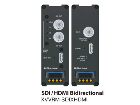 HDMI/SDI双方向コンバーター XVVRM-SDIXHDMI