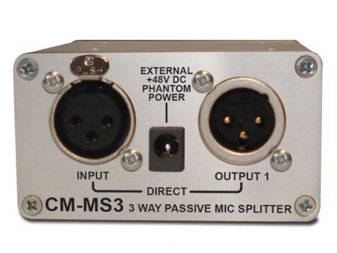 CM-MS3 / マイク・ラインパッシブ分配器