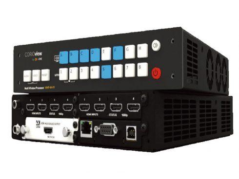 CORIO®viewシリーズ / 4K 対応マルチウインドウ・プロセッサー