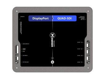 DisplayPort to Quad SDIコンバーター XVVDP2QSDIの画像