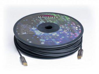MAGENTA 難燃性ゼロハロゲンアクティブ光ケーブル HDMI2.0 / DisplayPort1.4の画像