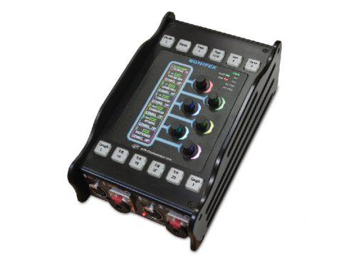 スポーツ中継や実況放送で使えるAVN-CU2 コメンタリーユニット