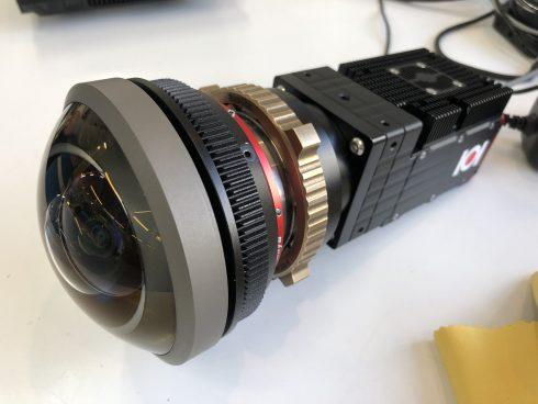 8KSDIカメラモジュールのPLマウント対応